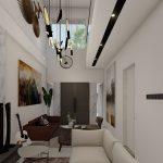 desain interior living room Semarang