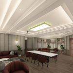 contoh desain interior meeting room