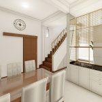 jasa desain interior kitchen set Semarang