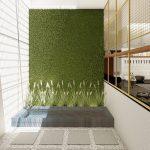 desain interior kitchen set modern