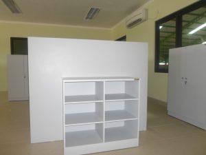 desain custom furniture meja kantor PT TJM