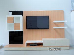 jasa custom furniture meja tv bufet partisi