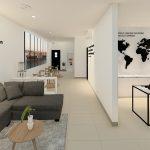 desain interior ruang resepsionis