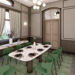 desain interior restoran Hotel Solia Zigna