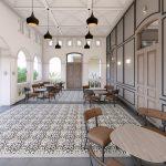 inspirasi desain interior restoran