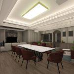 tampilan desain interior meeting room adhiwangsa hotel