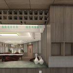 project desain interior meeting room adhiwangsa