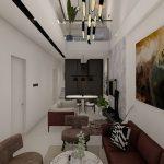 desain interior living room (supri house)